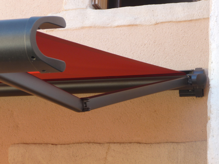 markilux awning retractable folding arms