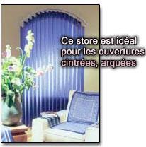 store lamelle stores lamelles a bande vertical pour fen tre. Black Bedroom Furniture Sets. Home Design Ideas