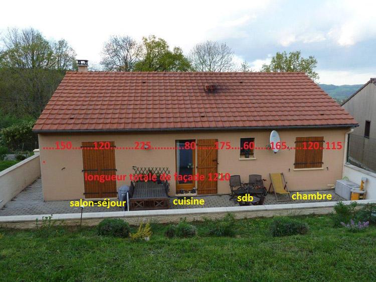 Protection solaire avec un store banne pour ma maison de for Maison standard