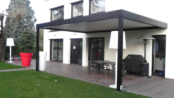 achat pergola bioclimatique. Black Bedroom Furniture Sets. Home Design Ideas