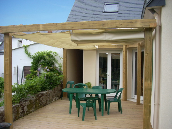 Free Best Gallery Photo About Pergola Bois With Couverture Pergola Bois  With Couverture De Terrasse En Bois