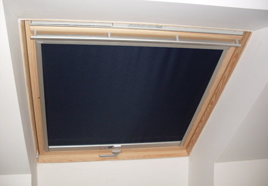 Store velux for Store interieur velux