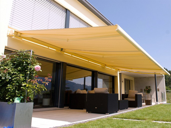 Stobag store coffre awning retractable