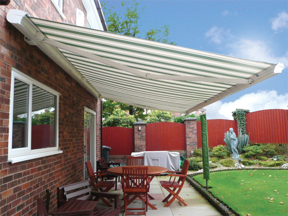 Topline cassette awning retractable WoundWo
