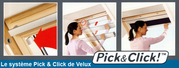 comment d monter un store occultant dkl pour fen tre velux. Black Bedroom Furniture Sets. Home Design Ideas